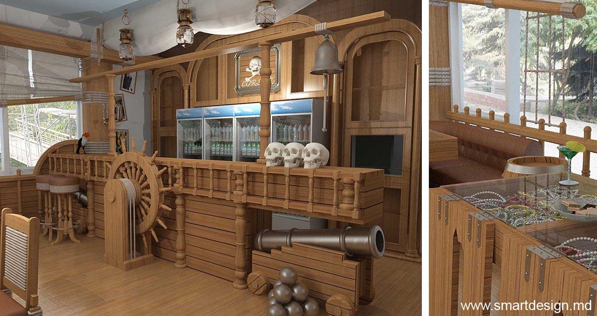 Pirate Ship Pub