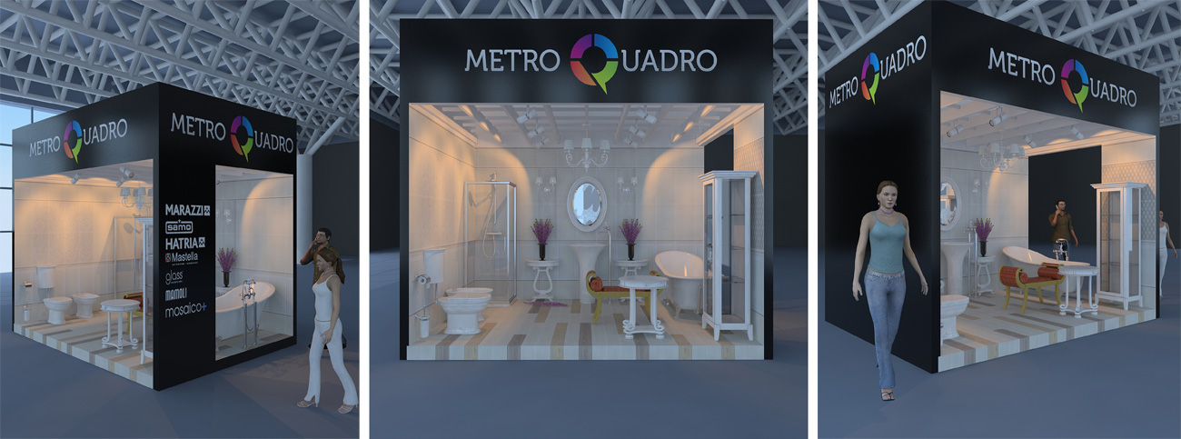 Metro Quadro Royal Bath